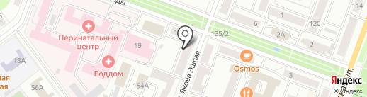 Радмир Плюс на карте Йошкар-Олы