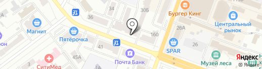 Ух ты! на карте Йошкар-Олы