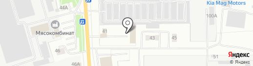 Лаборатория труда на карте Йошкар-Олы