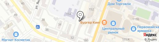 ДОшкольник плюс на карте Йошкар-Олы