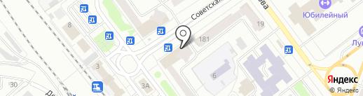 Куан на карте Йошкар-Олы