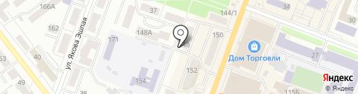 С иголочки на карте Йошкар-Олы