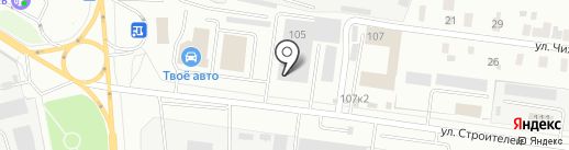 Елена на карте Йошкар-Олы