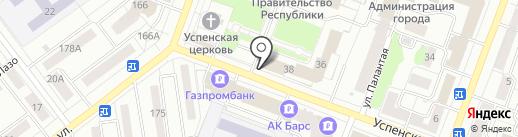 Приемная Президента России в республике Марий Эл на карте Йошкар-Олы
