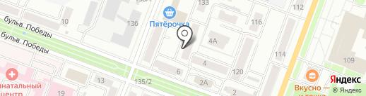 А-МИКС на карте Йошкар-Олы