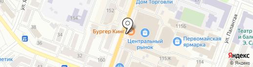 Гешефт на карте Йошкар-Олы