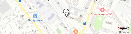 Телефон доверия, Главное Управление МЧС России по Республике Марий Эл на карте Йошкар-Олы