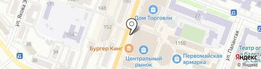 МегаФон на карте Йошкар-Олы