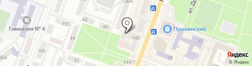 Филин на карте Йошкар-Олы