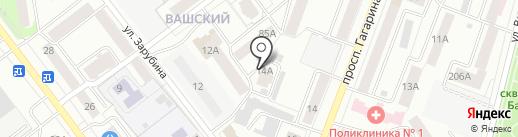 Ковчег на карте Йошкар-Олы