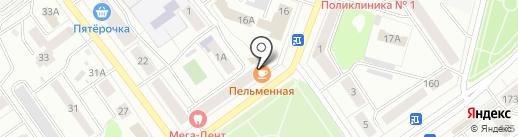 Агат-плюс на карте Йошкар-Олы