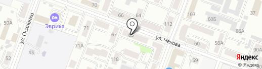 Аннель на карте Йошкар-Олы