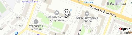 Марийская республиканская организация профсоюза работников агропромышленного комплекса РФ на карте Йошкар-Олы