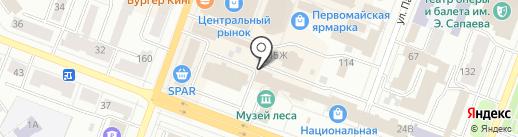 Академия на карте Йошкар-Олы