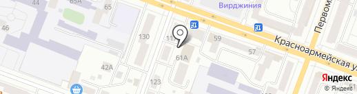 Тиражные решения 1С-рарус на карте Йошкар-Олы