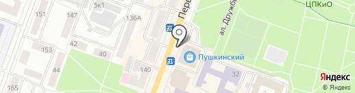 Магазин косметики на карте Йошкар-Олы