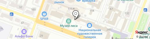 Мои Документы на карте Йошкар-Олы