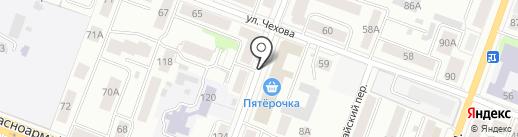 Труженица и К на карте Йошкар-Олы