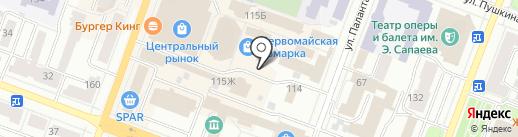 Умелые ручки на карте Йошкар-Олы