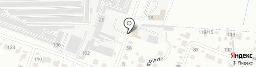 Шерберг на карте Йошкар-Олы