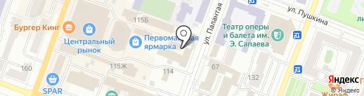 Банк ВТБ 24, ПАО на карте Йошкар-Олы