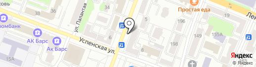 Нотариус Кушнер Г.В. на карте Йошкар-Олы