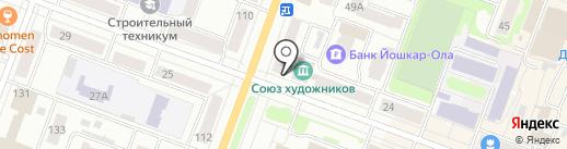 Мари-Групп на карте Йошкар-Олы