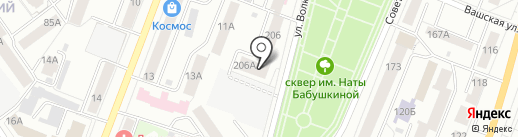 Росгосстрах банк, ПАО на карте Йошкар-Олы