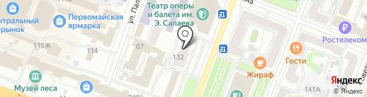 Майнд Форс на карте Йошкар-Олы
