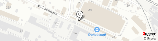 Мари-я на карте Йошкар-Олы