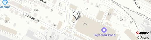 СдобноВо на карте Йошкар-Олы