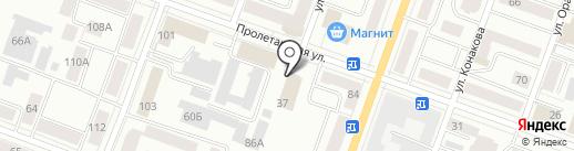 Марийский культурно-спортивный реабилитационный центр инвалидов на карте Йошкар-Олы