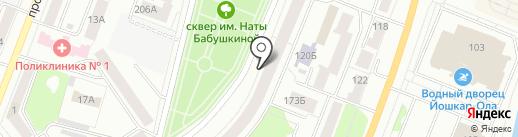 ЭкспертБюро на карте Йошкар-Олы