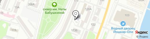 СтудПит на карте Йошкар-Олы