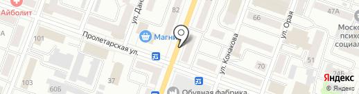 ЖЭУК-4 на карте Йошкар-Олы