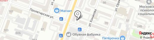 Йомак на карте Йошкар-Олы