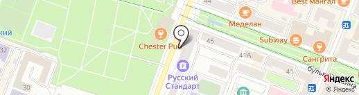 Татфондбанк, ПАО на карте Йошкар-Олы