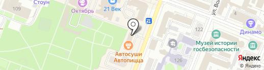 Едим дома на карте Йошкар-Олы