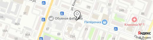 Гастроном на карте Йошкар-Олы