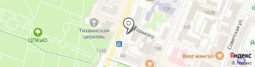Марлен на карте Йошкар-Олы