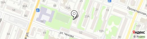 Снежинка, ТСЖ на карте Йошкар-Олы