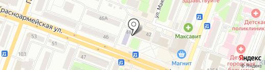 АК Барс банк, ПАО на карте Йошкар-Олы
