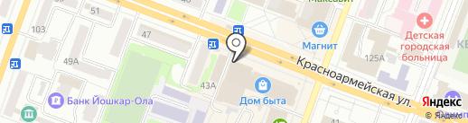Choco shop на карте Йошкар-Олы