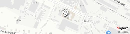 Продамус на карте Йошкар-Олы