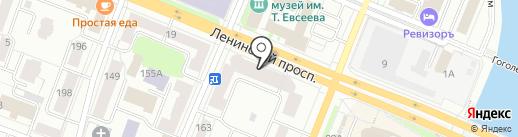 Магазин светотехники и замков на карте Йошкар-Олы