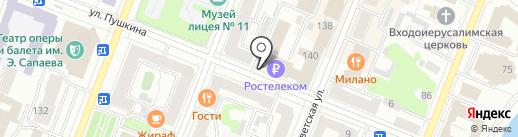 OZON.ru на карте Йошкар-Олы
