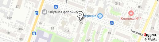 Ракета, ТСЖ на карте Йошкар-Олы
