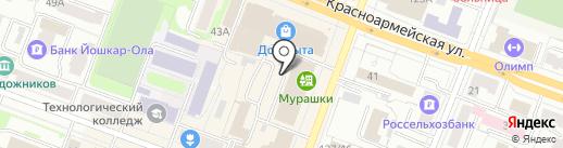 Магазин-склад хозяйственных товаров на карте Йошкар-Олы