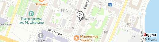 Деко на карте Йошкар-Олы