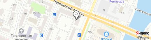 ТВ-транс на карте Йошкар-Олы